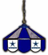 "Dallas Cowboys 14"" Glass Pub Lamp"