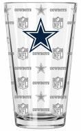 Dallas Cowboys 16 oz. Sandblasted Pint Glass