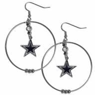 """Dallas Cowboys 2"""" Hoop Earrings"""
