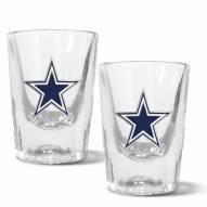 Dallas Cowboys 2 oz. Prism Shot Glass Set