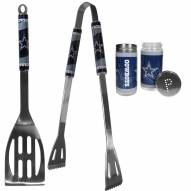 Dallas Cowboys 2 Piece BBQ Set with Tailgate Salt & Pepper Shakers