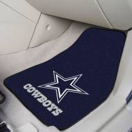 Dallas Cowboys 2-Piece Carpet Car Mats