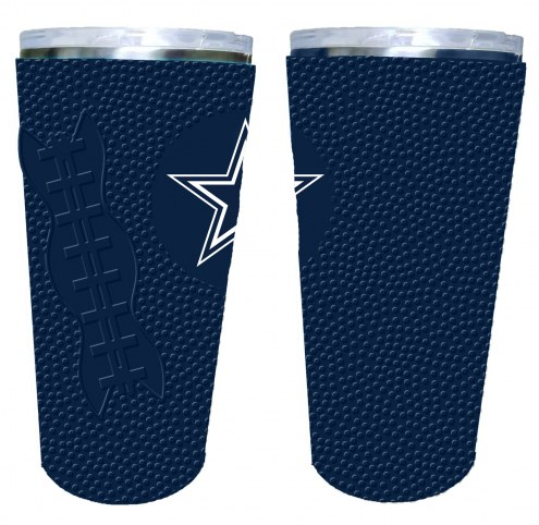 Dallas Cowboys 20 oz. Stainless Steel Tumbler with Silicone Wrap