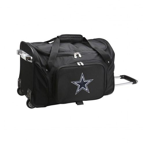 "Dallas Cowboys 22"" Rolling Duffle Bag"