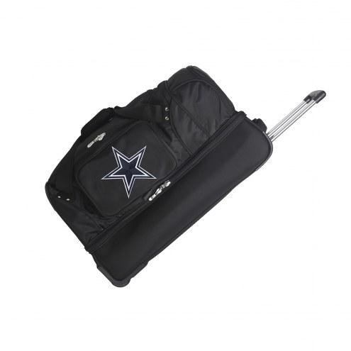 "Dallas Cowboys 27"" Drop Bottom Wheeled Duffle Bag"