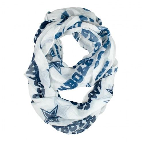 Dallas Cowboys Alternate Sheer Infinity Scarf