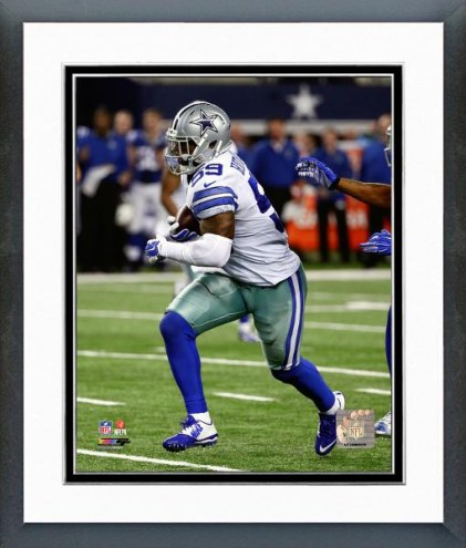 Dallas Cowboys Anthony Hitchens Action Framed Photo