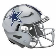 Dallas Cowboys Authentic Helmet Cutout Sign