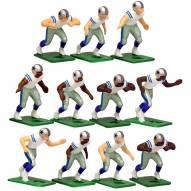 Dallas Cowboys Away Uniform Action Figure Set