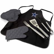 Dallas Cowboys BBQ Apron Tote Set