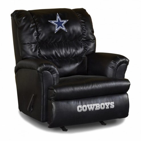 Dallas Cowboys Big Daddy Leather Recliner