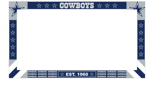Dallas Cowboys Big Game Monitor Frame