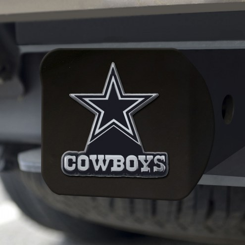 Dallas Cowboys Black Matte Hitch Cover