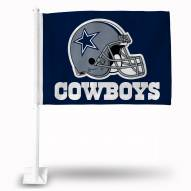 Dallas Cowboys Blue Car Flag