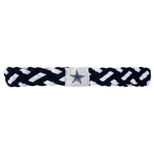 Dallas Cowboys Braided Head Band