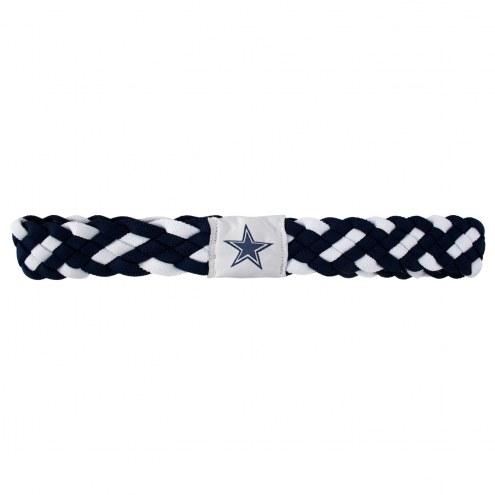Dallas Cowboys Braided Head Band