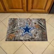 Dallas Cowboys Camo Scraper Door Mat