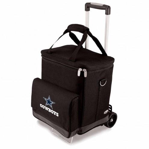 Dallas Cowboys Cellar Cooler with Trolley