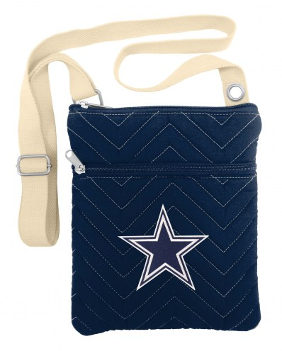 Dallas Cowboys Chevron Stitch Crossbody Bag