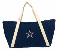 Dallas Cowboys Chevron Stitch Weekender Bag