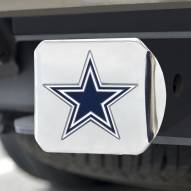 Dallas Cowboys Chrome Color Hitch Cover