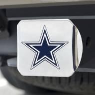 Dallas Cowboys Chrome Color Hitch Cover
