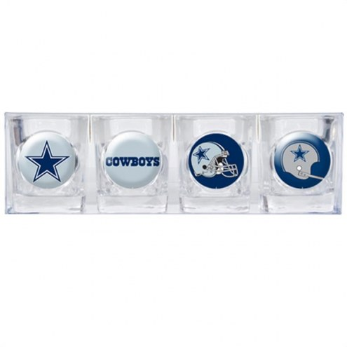 Dallas Cowboys Collector's Shot Glass Set