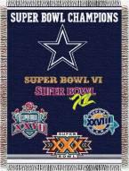 Dallas Cowboys Commemorative Throw Blanket