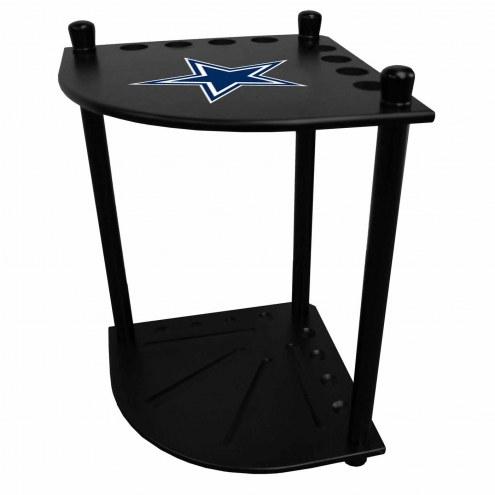 Dallas Cowboys Corner Pool Cue Rack