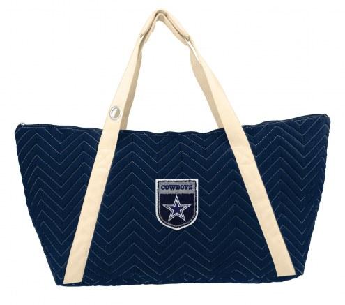 Dallas Cowboys Crest Chevron Weekender Bag