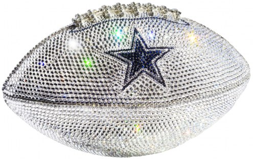 Dallas Cowboys Swarovski Crystal Football