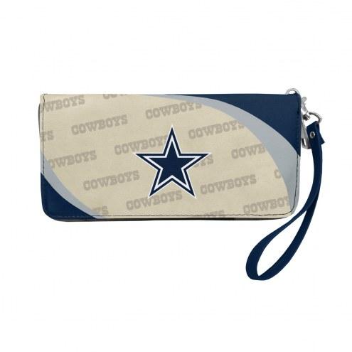Dallas Cowboys Curve Zip Organizer Wallet