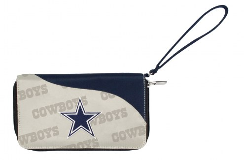 Dallas Cowboys Curve Zip Wallet