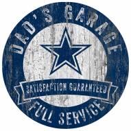 Dallas Cowboys Dad's Garage Sign