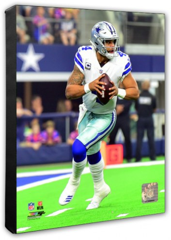 Dallas Cowboys Dak Prescott Action Photo