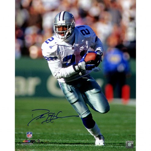 Dallas Cowboys Deion Sanders Signed 16 x 20 Photo