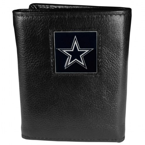 Dallas Cowboys Deluxe Leather Tri-fold Wallet