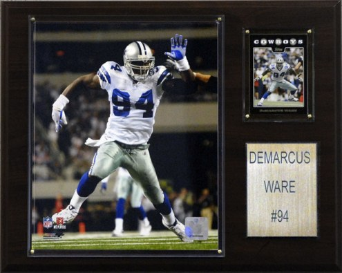 """Dallas Cowboys DeMarcus Ware 12 x 15"""" Player Plaque"""