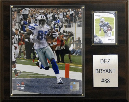 "Dallas Cowboys Dez Bryant 12 x 15"" Player Plaque"