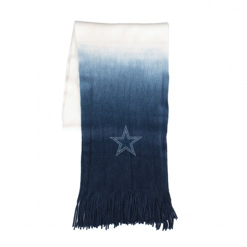 Dallas Cowboys Dip Dye Scarf