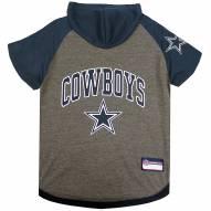 Dallas Cowboys Dog Hoodie Tee
