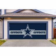 Dallas Cowboys Double Garage Door Cover