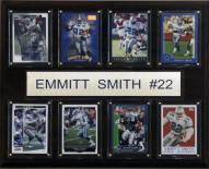 """Dallas Cowboys Emmitt Smith 12"""" x 15"""" Card Plaque"""