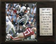 "Dallas Cowboys Emmitt Smith 12"" x 15"" Career Stat Plaque"
