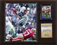 "Dallas Cowboys Emmitt Smith 12 x 15"" Player Plaque"