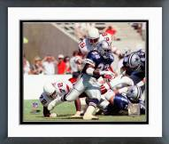 Dallas Cowboys Emmitt Smith 1990 Action Framed Photo
