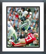 Dallas Cowboys Emmitt Smith 1995 Action Framed Photo