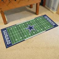 Dallas Cowboys Football Field Runner Rug