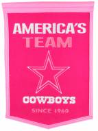 Dallas Cowboys Football for Her Banner