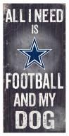 Dallas Cowboys Football & My Dog Sign